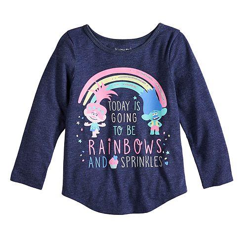 2133b09ed5340 Toddler Girl Jumping Beans® DreamWorks Trolls Poppy & Branch ...