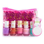 Simple Pleasures Snowman 5-Piece Nail Polish Set