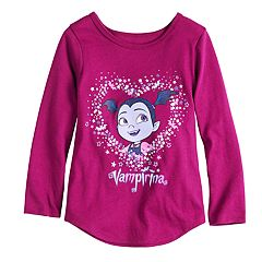 Toddler Girl Jumping Beans® Vampirina Glittery Graphic Tee