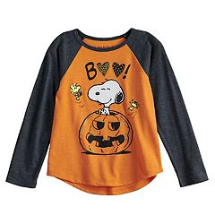 Toddler Girl Jumping Beans® Peanuts Snoopy 'Boo' Pumpkin Graphic Tee
