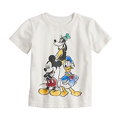 Disney's Mickey Mouse Toddler Boy Goofy, Donald Duck & Mickey Mouse Softest Graphic Tee by Jumping Beans®
