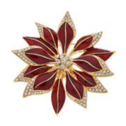 Napier Poinsettia Pin