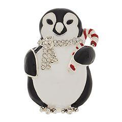 Napier Penguin Holiday Pin