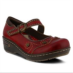 L'Artiste By Spring Step Sugarcane Women's Mary Jane Clogs