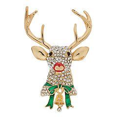 Napier Rudolph Holiday Pin