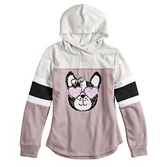 Girls 7-16 Miss Chievous Colorblock Graphic Hoodie