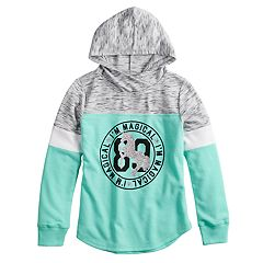 Girls 7-16 Miss Chievous Colorblock Long Sleeve Hoodie