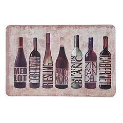 Mohawk® Home All Wined Up Cushioned Printed Kitchen Mat - 18'' x 30''