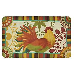 Mohawk® Home Painted Spice Rooster Cushioned Printed Kitchen Mat - 18'' x 30''