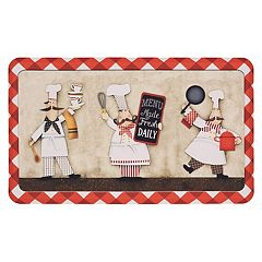 Mohawk® Home Three Panel Chefs Cushioned Printed Kitchen Mat - 18'' x 30''