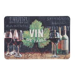 Mohawk® Home Vin de Table Cushioned Printed Kitchen Mat - 18'' x 30''