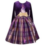 Girls 7-16 & Plus Size Bonnie Jean Plaid Sleeveless Dress & Cardigan Set