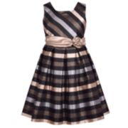 Girls 7-16 & Plus Size Bonnie Jean Striped Sleeveless Dress