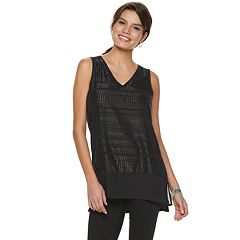 Women's Apt. 9® Vented Mixed-Media Tank