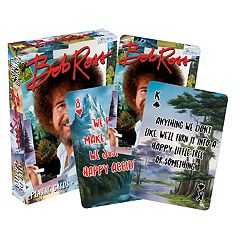 Aquarius Bob Ross Playing Cards