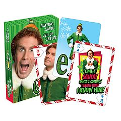 Aquarius Buddy the Elf Playing Cards