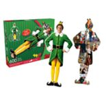 Aquarius Buddy the Elf 600-Piece Two-Sided Puzzle