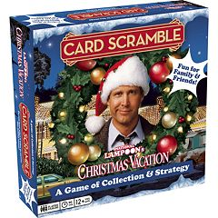 Aquarius National Lampoon's Christmas Vacation Card Scramble Board Game
