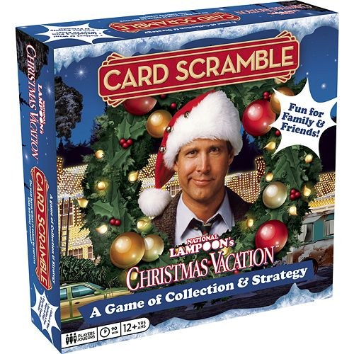 aquarius national lampoons christmas vacation card scramble board game - National Christmas Vacation