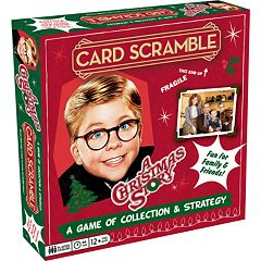 Aquarius A Christmas Story Card Scramble Board Game