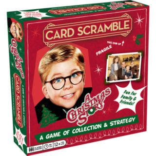 Aquarius A Christmas Story Card Scramble Board Game