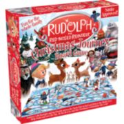 Aquarius Rudolph the Red-Nosed Reindeer Christmas Journey Board Game