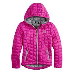 Girls 7-16 Reebok Packable Glacier Shield Midweight Jacket