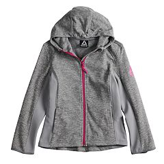Girls 7-16 Reebok Polar Fleece Midweight Jacket