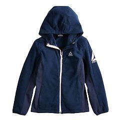 Girls 7-16 Reebok Polar Fleece Midweight Jacket