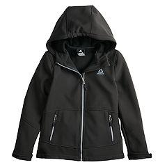 Girls 7-16 Reebok Softshell Midweight Fleece-Lined Jacket