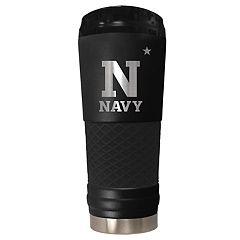 Navy Midshipmen 24-Ounce Stealth Travel Tumbler