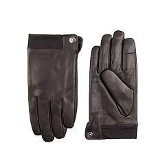 Men's Dockers® InteliTouch Stretch Leather Touchscreen Gloves
