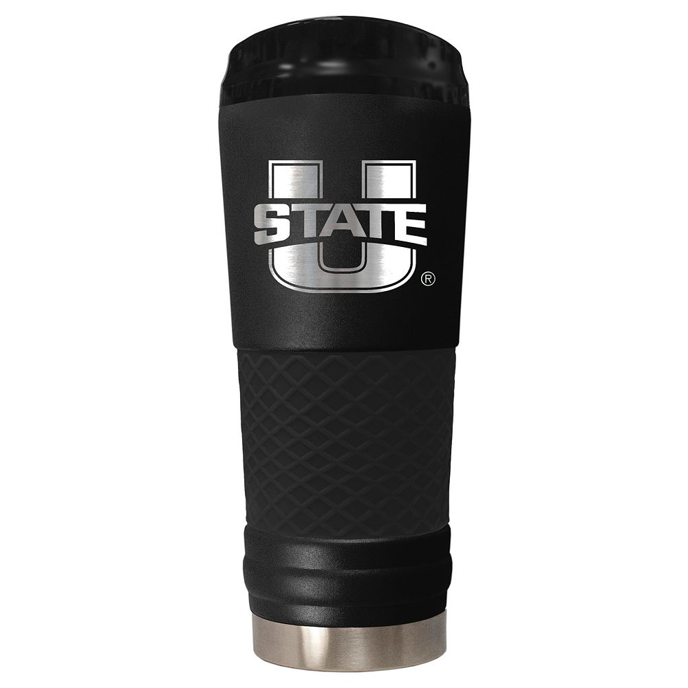 Utah State Aggies 24-Ounce Stealth Travel Tumbler