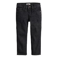 Toddler Boy Jumping Beans® Black Denim Pants