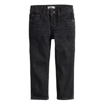 Toddler Boy Jumping Beans® Black Denim Pants
