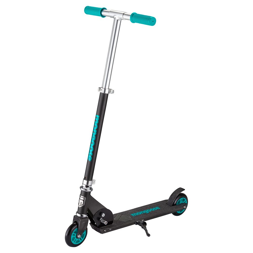 Mongoose Force 2.0 Scooter - Black/Teal