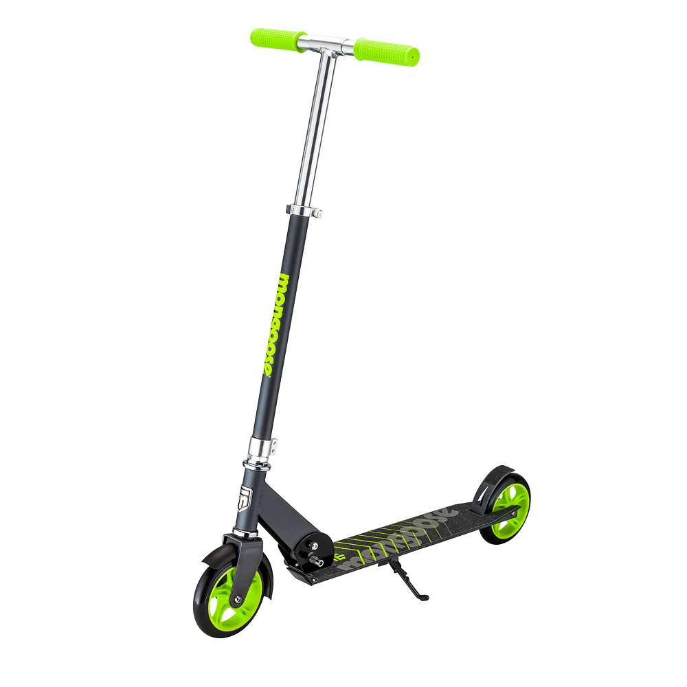 Mongoose Force 3.0 Scooter - Black/Green