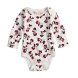 Disney's Minnie Mouse Baby Girl Long Sleeve Bodysuit by Jumping Beans®