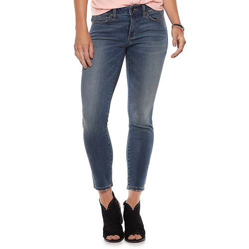 Women's SONOMA Goods for Life™ Midrise Skinny Ankle Jeans