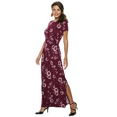 Women's Apt. 9® Draped Maxi Dress