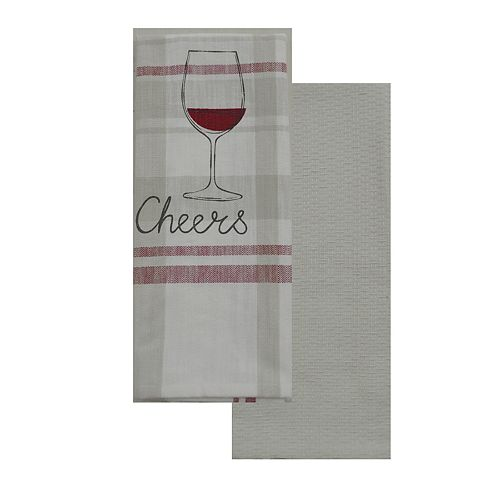 "Food Network™ ""Cheers"" Kitchen Towel 2-pack"