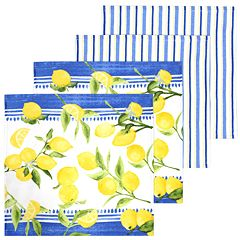 Food Network™ Lemons Dischcloth 4-pack