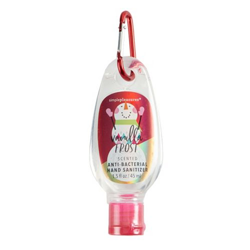 Simple Pleasures Vanilla Frost Anti-Bacterial Hand Sanitizer