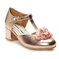 Rachel Shoes Elena Girls' T-strap Dress Shoes