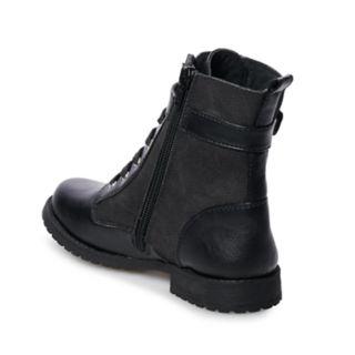 Rachel Shoes Kirsten Girls' Combat Boots