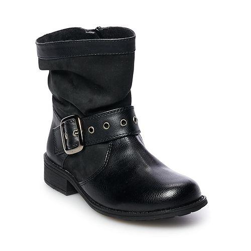 Rachel Shoes Parker Girls' Slouchy Western Boots