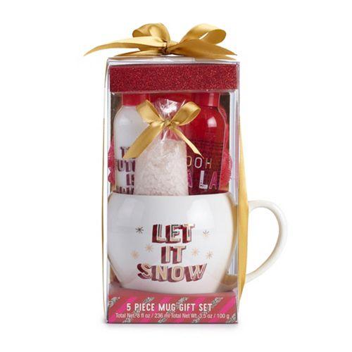 Simple Pleasures 5-Piece Mug Gift Set