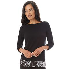 Women's Apt. 9® Mock-Layer Top