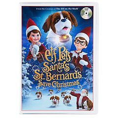The Elf on the Shelf Elf Pets: Santa's St. Bernards Save Christmas DVD