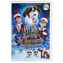 The Elf on the Shelf Elf Pets: Santa's St. Bernards Save Christmas DVD